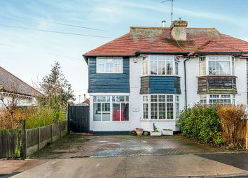 Thumbnail 3 bed semi-detached house for sale in The Broadway, Herne Bay