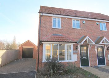 Thumbnail 3 bed semi-detached house to rent in Stud Road, Teigh, Oakham
