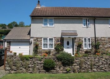 Thumbnail 2 bed semi-detached house for sale in Bathpool, Launceston, Cornwall