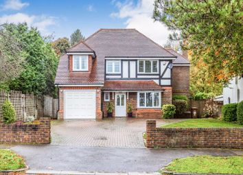 Thumbnail 4 bed detached house for sale in Walkfield Drive, Epsom