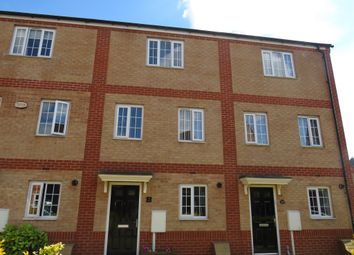 Thumbnail 4 bedroom terraced house for sale in Turners Gardens, Wootton, Northampton