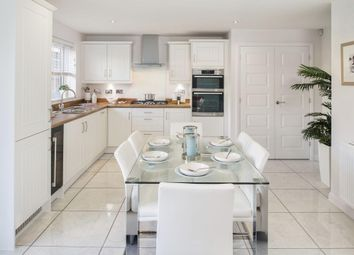 "Thumbnail 4 bed detached house for sale in ""Harrogate"" at High Street, Watchfield, Swindon"