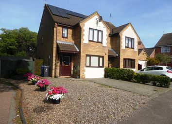 Thumbnail 4 bedroom semi-detached house for sale in Mirbecks Close, Worlingham, Beccles