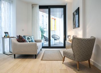 Thumbnail 3 bed flat for sale in Harbutt Way, Wembley, London