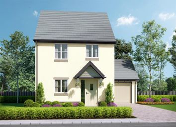 Thumbnail 3 bed link-detached house for sale in Abbeyford Vale, Crediton Road, Okehampton, Devon