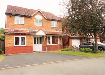 Thumbnail 4 bed detached house for sale in Norwich Drive, Randlay, Telford