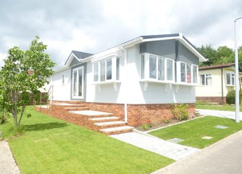 Thumbnail 2 bed mobile/park home for sale in South View Park Homes, Olivers Battery Gardens, Winchester