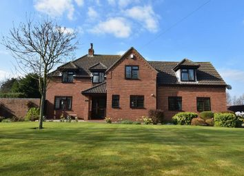 Thumbnail 4 bed detached house for sale in Main Road, Saltfleetby, Louth