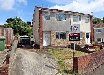 Thumbnail 2 bedroom semi-detached house for sale in Foel View Close, Llantwit Fardre, Pontypridd, Rhondda, Cynon, Taff.