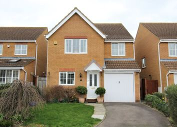 Thumbnail 4 bed detached house for sale in Pickering Close, Sandy