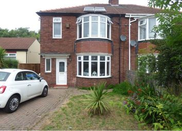 Thumbnail 3 bedroom semi-detached house for sale in Cowpen Road, Blyth