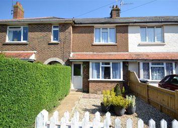 Thumbnail 2 bed terraced house for sale in Leigh Road, Broadwater, Worthing, West Sussex