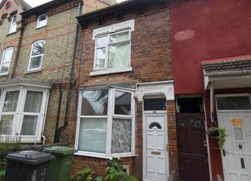 Thumbnail 3 bed terraced house for sale in Dogsthorpe Road, Peterborough, Cambridgeshire