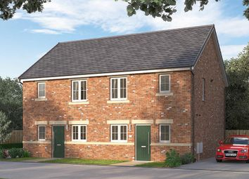 """Thumbnail 3 bedroom semi-detached house for sale in """"The Knightsbridge"""" at Browney Lane, Browney, Durham"""