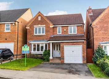 Thumbnail 4 bed detached house for sale in Berilldon Drive, Lincoln