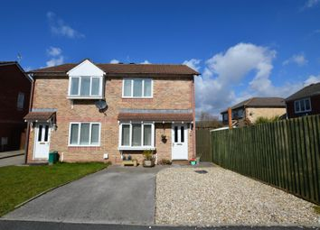 Thumbnail 2 bed semi-detached house for sale in Heol Ysgawen, Llanharry, Pontyclun