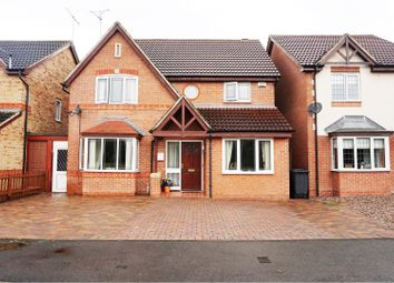 Thumbnail 4 bedroom detached house for sale in Eaton Close, Hatton