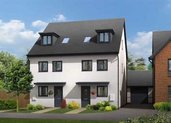 "Thumbnail 4 bed terraced house for sale in ""Helmsley"" at Ffordd Y Mileniwm, Barry"