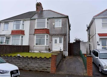 Thumbnail 3 bed semi-detached house for sale in Lon Coed Bran, Swansea