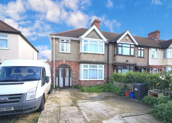 Thumbnail 3 bed end terrace house to rent in Clevedon Gardens, Cranford