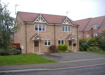 Thumbnail 2 bed town house to rent in Newstead Way, Loughborough
