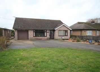 Thumbnail 3 bed detached bungalow for sale in Martins Lane, Witcham, Ely