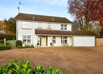 Thumbnail 4 bed detached house for sale in Farthingfield, Old London Road, Wrotham, Sevenoaks
