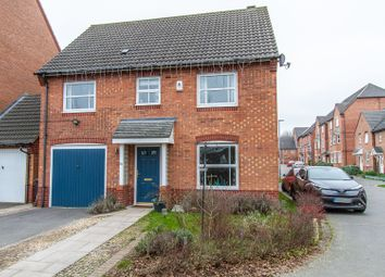 Thumbnail 4 bed detached house for sale in Staples Drive, Coalville