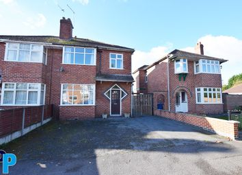 Thumbnail 3 bed semi-detached house to rent in Wellesley Avenue, Sunnyhill, Derby