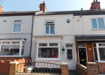 Thumbnail 2 bed terraced house for sale in Hey Street, Cleethorpes