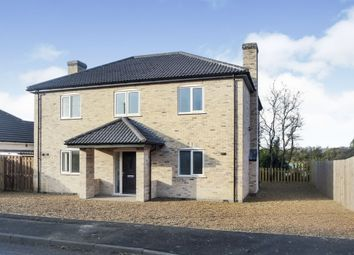 Thumbnail 4 bedroom detached house for sale in Fridaybridge Road, Elm, Wisbech