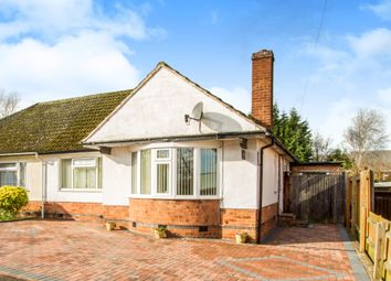 Thumbnail 2 bedroom semi-detached bungalow for sale in Highcroft Avenue, Oadby, Leicester