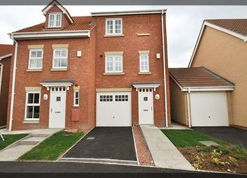 Thumbnail 3 bed semi-detached house to rent in Selset Way, Waterside Park, Kingswood, Hull