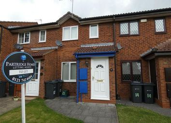 Thumbnail 2 bed terraced house to rent in Gideon Close, South Yardley, Birmingham