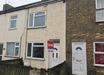 Thumbnail 3 bed terraced house for sale in High Street, Fletton, Peterborough