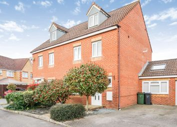 Thumbnail 4 bed semi-detached house for sale in Fairlead Road, Cowes