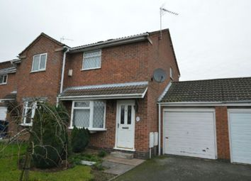 Thumbnail 2 bedroom end terrace house for sale in Tyler Road, Ratby, Leicester