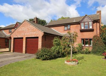 Rose Close, Tiverton EX16. 4 bed detached house