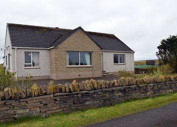 Thumbnail 3 bed detached bungalow for sale in Hill Of Forss, Thurso