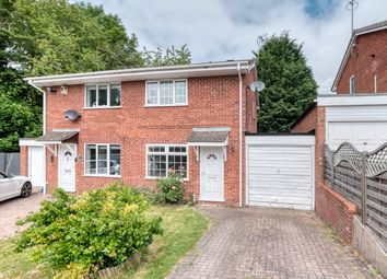Thumbnail 2 bed semi-detached house to rent in Paxford Close, Redditch