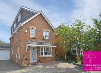 Thumbnail 5 bed detached house for sale in Cleburne Close, Stanwick, Northamptonshire