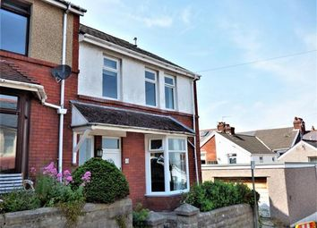 Thumbnail 3 bed end terrace house for sale in Oakland Road, Mumbles, Swansea