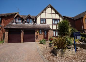 Thumbnail 5 bedroom detached house for sale in Worrall Way, Lower Earley, Reading, Berkshire