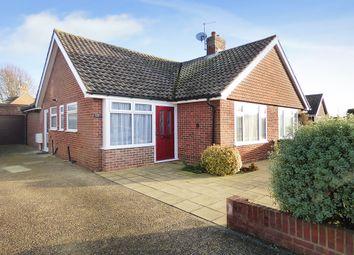 Thumbnail 2 bed semi-detached bungalow for sale in Barnsite Gardens, Rustington, Littlehampton