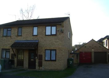 Thumbnail 2 bedroom semi-detached house to rent in Derwent Close, Bordon