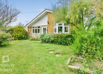Thumbnail 4 bed detached bungalow for sale in St. Peters Way, Spixworth, Norwich