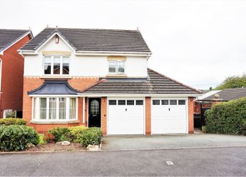 Thumbnail 4 bed detached house for sale in Fair-Green Road Baldwins Gate, Newcastle