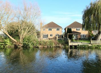 Thumbnail 4 bed detached house for sale in Riverside Avenue, Broxbourne, Hertfordshire.