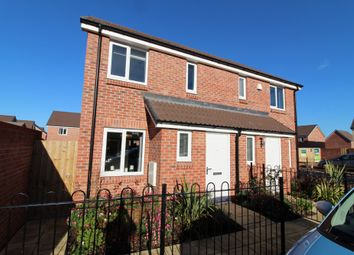 Thumbnail 2 bed semi-detached house to rent in Birch Way, Cranbrook, Exeter, Devon
