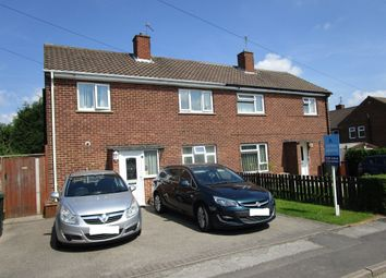 Thumbnail 3 bedroom semi-detached house for sale in Coronation Close, Melbourne, Derby